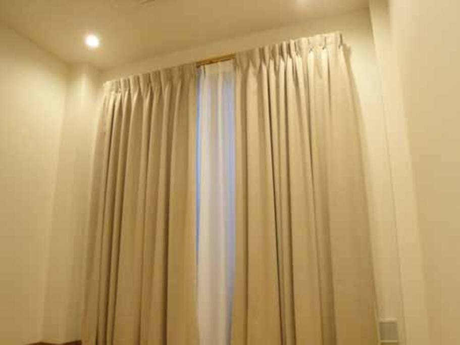 Long curtain