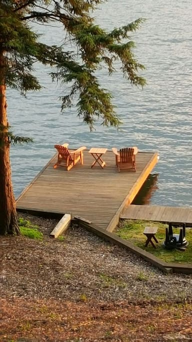 Relax on the dock!