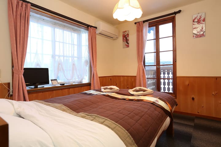 Double room with balcony - Hakuba - Bed & Breakfast