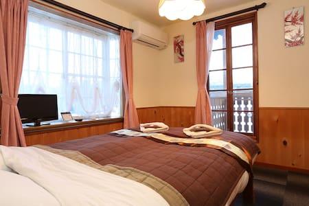 Double room with balcony - Hakuba