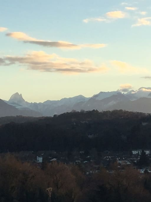 Une des plus belles vues de Pau