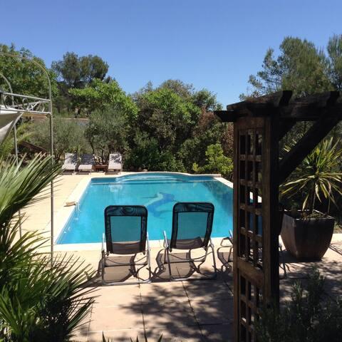 Villa ,vue panoramique ,piscine - Montfort sur argens - 別墅