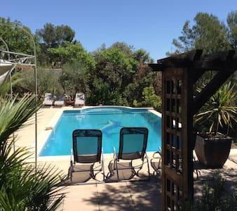 Villa ,vue panoramique ,piscine - Montfort sur argens