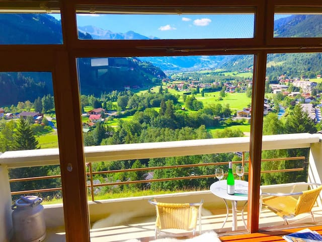 Alpine Loft: Hike Bike Spa Golf Ski - Badgastein - Byt