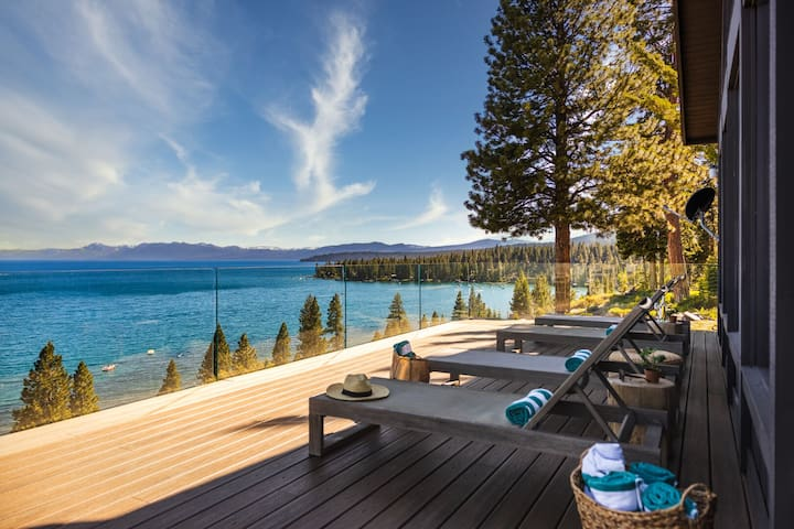 Lakeview by AvantStay | Private Waterfront Cabin on Lake Tahoe w/ Hot Tub Views