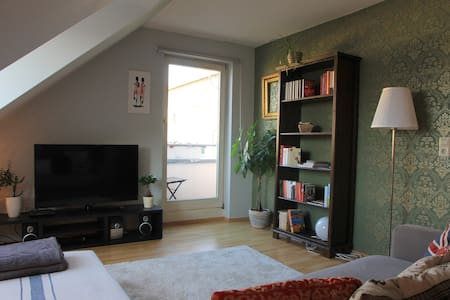 central comfy and quiet 2 room apt. - Stuttgart - Apartment