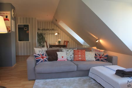 central comfy and quiet 2 room apt. - Huoneisto
