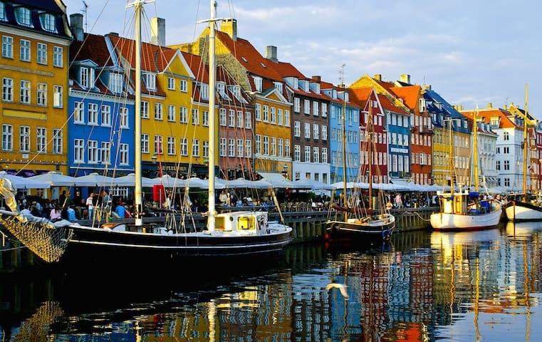 120 sqm in the historic city centre, Nyhavn