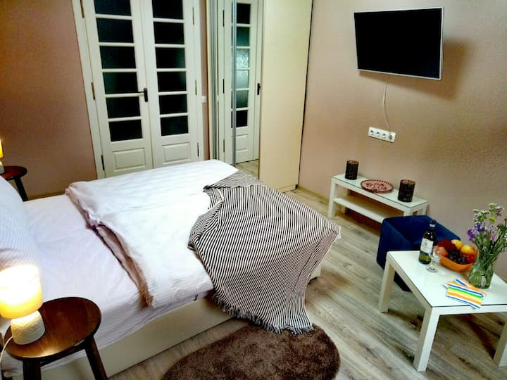1-room apartment near pedestrian str (3 persons)