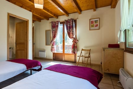 Chalet D'Amo - large twin ensuite - Bed & Breakfast