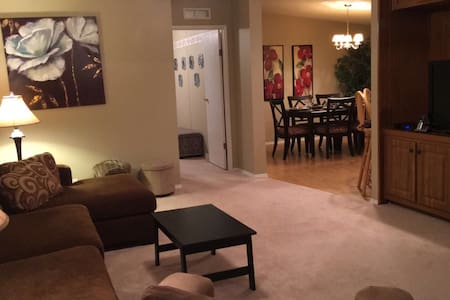 Sunny Vacation 3bdr., 2 bath 10min to Disney Parks - Winter Garden - Casa
