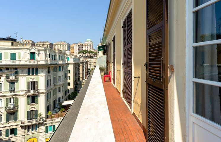 Charming flat downtown Genova city - Genua