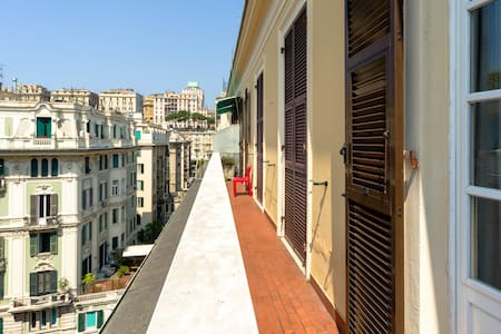 Charming flat downtown Genova city - Genua - Apartament