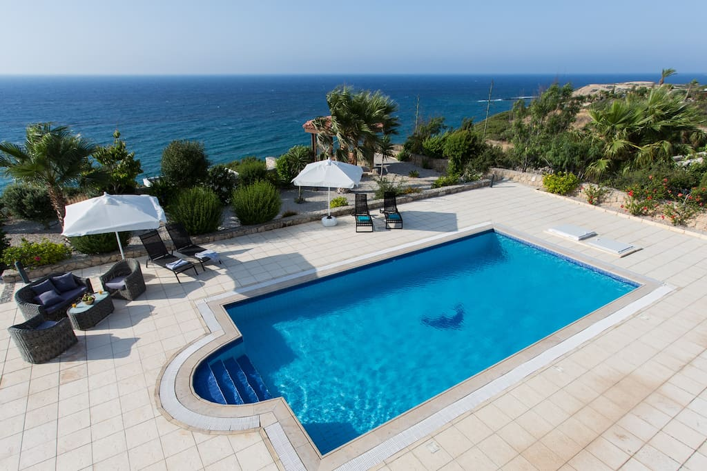 Magical sea view, outdoor overflow pool, landscaped gardens and gazebo