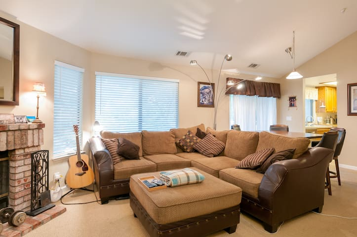 Comfy and relaxing condo near downtown Pleasanton