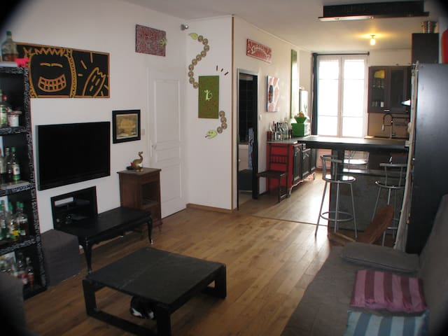 Flat near subway Saxe Gambetta - Lyon - Apartment