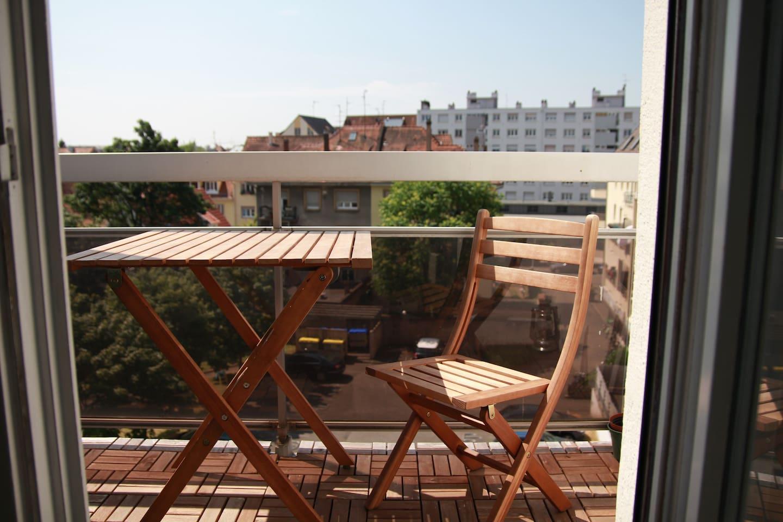 balcon pour faire le plein de vitamine D