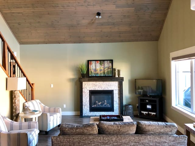 Living Room with Sofa Bed.