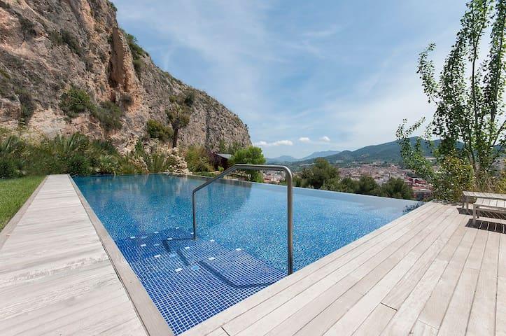 Villa with pool and panoramic views - Mariola - Alcoy - Villa