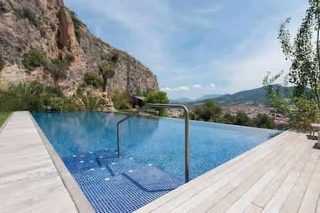 Villa with pool and panoramic views - Mariola - Alcoy