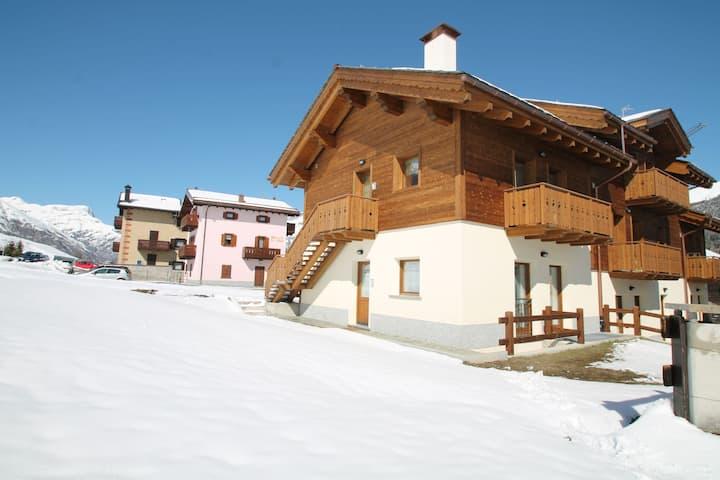 Ruhiges Ferienhaus in Livigno Italien nahe dem Skigebiet