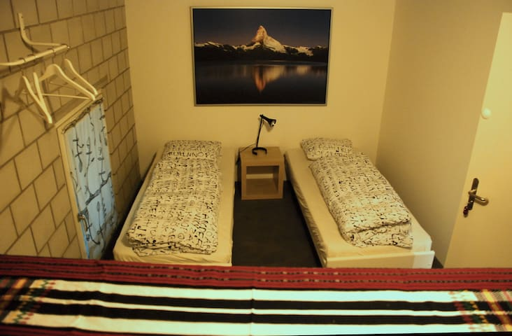 Zimmer im Hostel Tabakhuesli - Rheinfelden - Bed & Breakfast