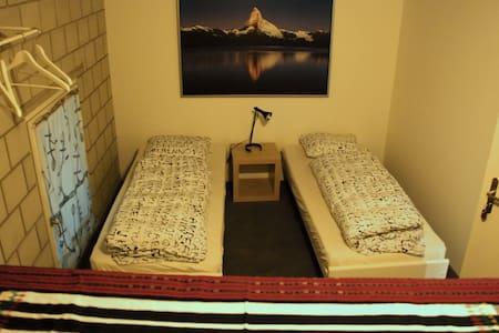 Zimmer im Hostel Tabakhuesli - Rheinfelden