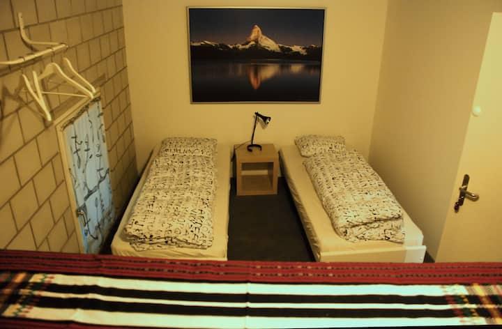 Zimmer im Hostel Tabakhuesli