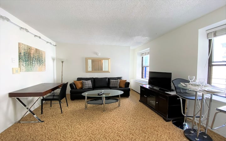 Beautiful Comfy Real 1 BDR with Open City Views