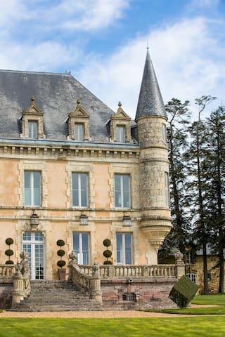Chateau de la Goujonnerie STDSGL - Loge-Fougereuse - Schloss