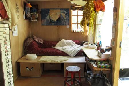 A cozy cabin - London - Blockhütte