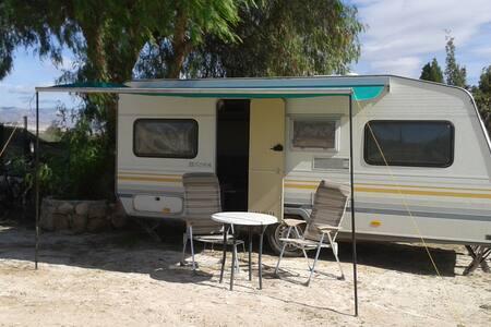 4 Pers. caravan op onze camping. - Aspe