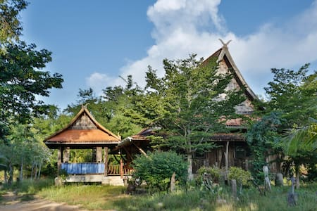 Traditional Thai House with garden - Krabi / Klong Chilat