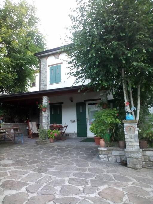 La casa - Facciata
