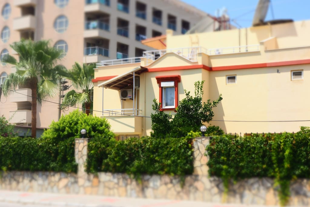 De voorkant van je woning