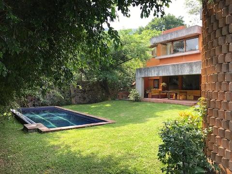 Habitación Privada (2 personas) Alberca, Jardines