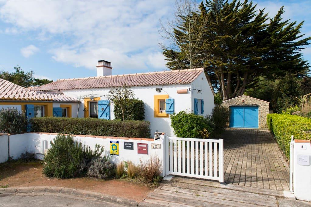 Les yeux bleus chambre marine chambres d 39 h tes louer - Chambres d hotes noirmoutier en l ile ...