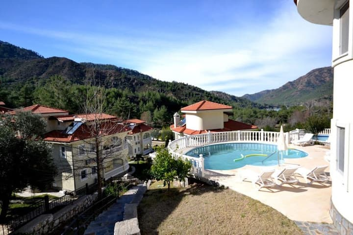 Beautiful Villa with Private Pool, Close to the Beach, Dalaman Villa 1045