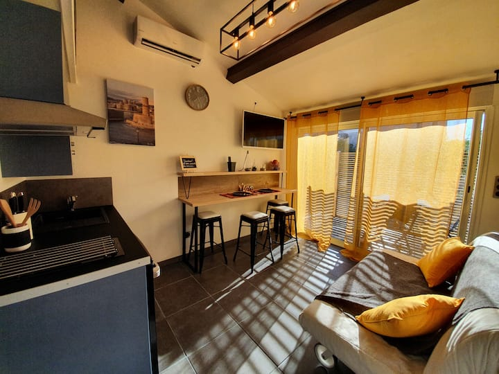 Nice and modern flat for 2/4 pers