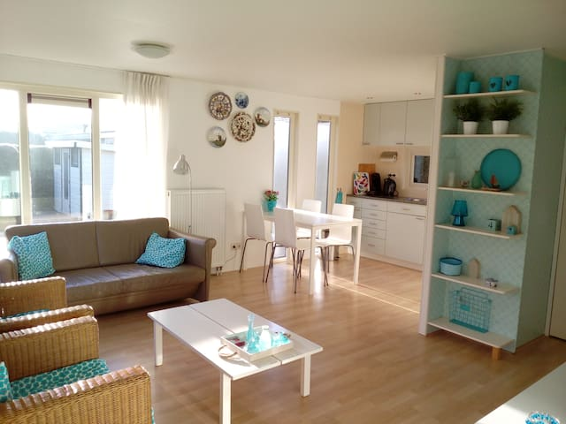 Holiday home 4 p, new, garden, Friesland Waddensea - Tzummarum - House