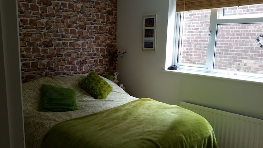 one double bedroom extra guest £5 per night