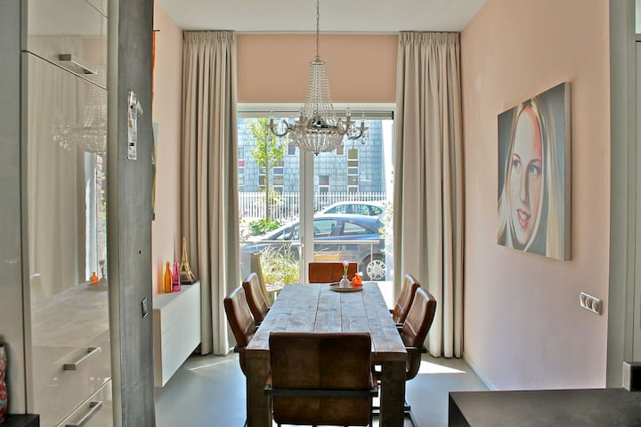 Large Family House in Amsterdam with garden - Amsterdam - Apartment