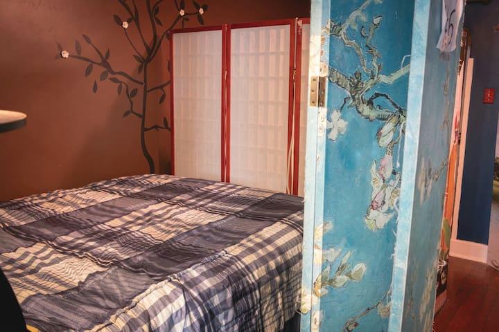 Semi-Private Full bed close to Quarter!