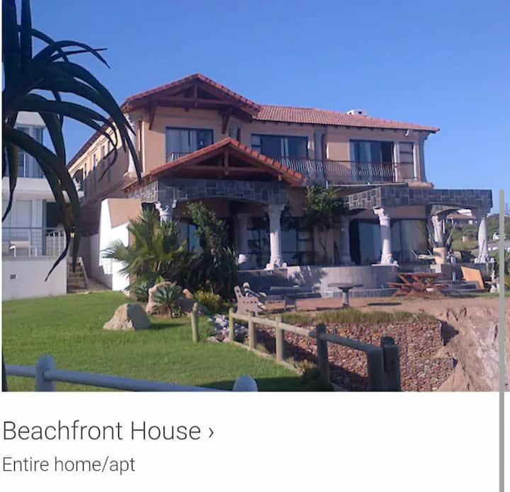 You ultimate Beachfront experience