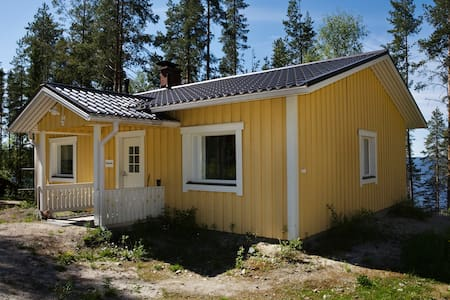 Lomamokki Pielisen rannalla Kolilla - Koli - 牧人小屋
