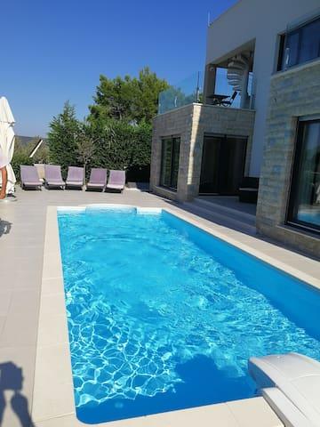 Villa Šarić with Pool on the Sea
