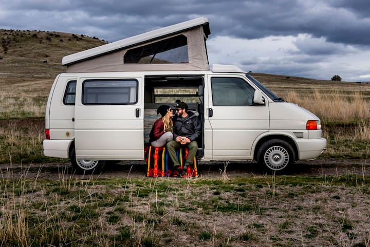 Tour Cali in BLANCA, a Fully Equipped VW EuroVan
