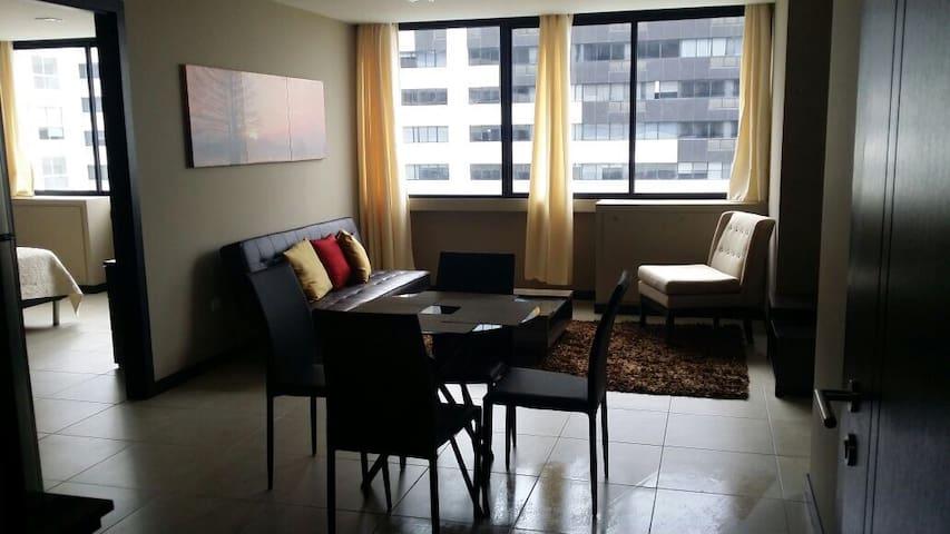 Ciudad del Río apartment river view
