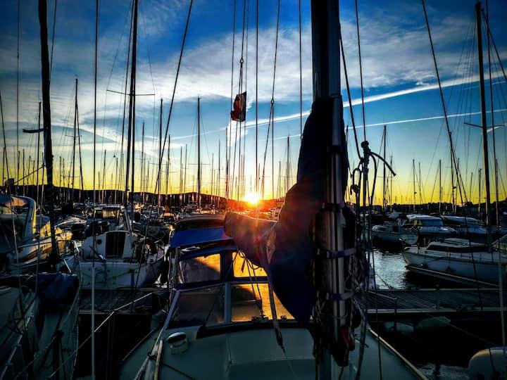 Séjour insolite de paix et d'amour d'un voilier