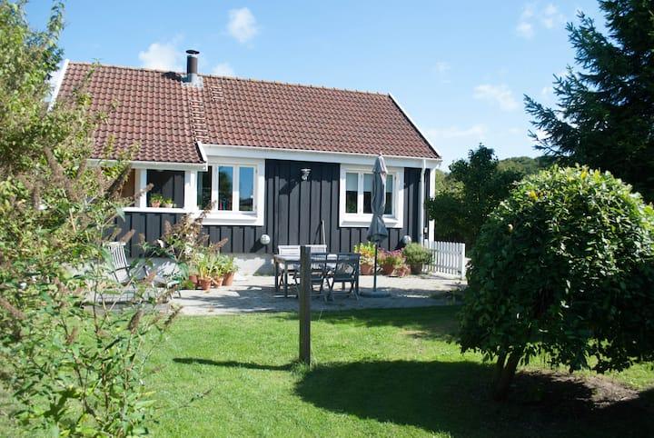 110 m2 unique wooden house
